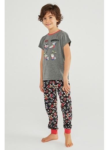 Penti Erkek Çocuk Comıcs 4Lü Pijama Takımı Renkli